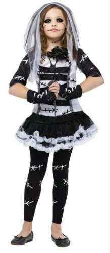 Costumes For All Occasions FW121322LG Monster Bride Child 12-14