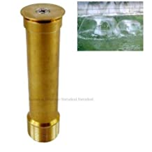 Generic New 1.0 DN25 High Quality Brass Trumpetflower Garden Pond Fountain Nozzle