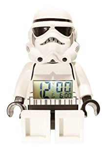 Lego Kids 9002137 Star Wars Storm Trooper Mini-figure Alarm Clock from LEGO