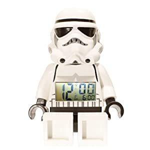 Storm Trooper Star Wars LEGO Alarm Clock