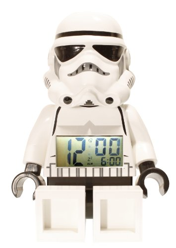 レゴ スターウォーズ/LEGO STAR WARS Storm Trooper Mini-Figure 目覚まし時計