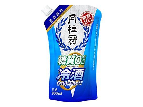 月桂冠 糖質ゼロ冷酒パウチ 900ml×6本