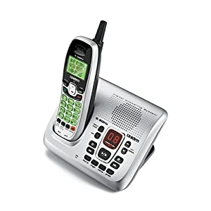 Uniden EXAI8580 5.8 GHz Digital Cordless Phone with Digital Answering System
