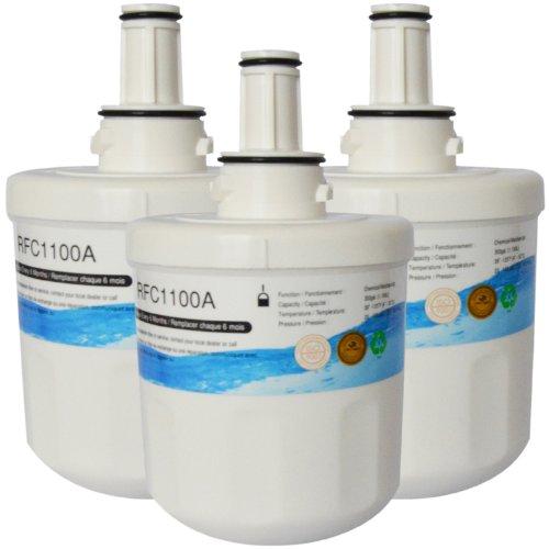3 Pack Rfc-1100A Compatible Water Filter For Samsung---Da29-00003 ; Da29- 00003A ; Da29-00003A-B ; Da29- 00003B; Da29-0003B ;Da2900003A ; Da2900003B ; Da61-00159 ; Da61- 00159A ; Da61-00159A-B ;Da61-159 ; Da97-06317A ;Tada29-00003A ; Tada29-00003B; Water front-66019