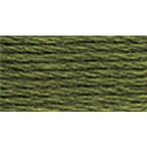 DMC 117-3051 Six Strand Embroidery Cotton Floss, Dark Green Grey, 8.7-Yard