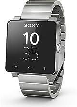 Sony SmartWatch 2 Montre Bluetooth/NFC pour Smartphone Android 4.0 Argent Métallique