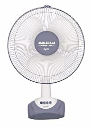 Maharaja Whiteline Opal 55-Watt Table Fan (Grey and White)