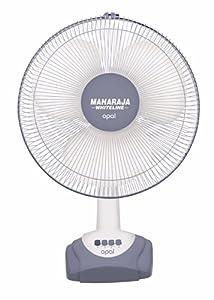 Maharaja Whiteline Opal 55 Watt Table Fan  Grey and White  available at Amazon for Rs.2110