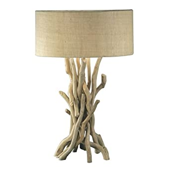 modern home nautical driftwood table lamp household lamps amazon. Black Bedroom Furniture Sets. Home Design Ideas