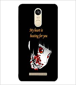 PrintDhaba Quote D-5366 Back Case Cover for XIAOMI REDMI NOTE 3 (MEDIATEK) (Multi-Coloured)