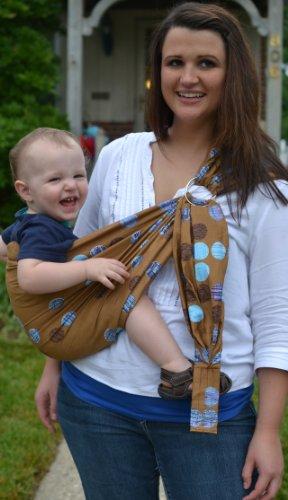 Lite-On-Shoulder Baby Sling front-92344