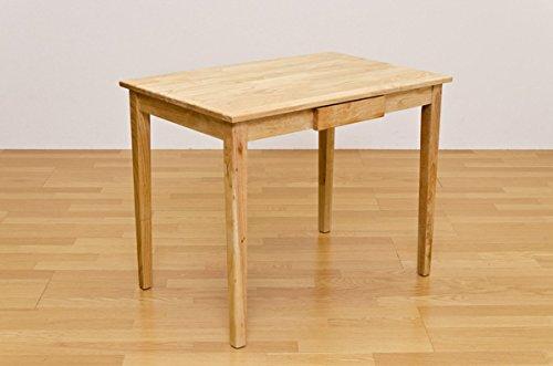 食卓テーブル 机 シンプルでおしゃれな 人気商品 木製テーブル 90×60cm ナチュラル