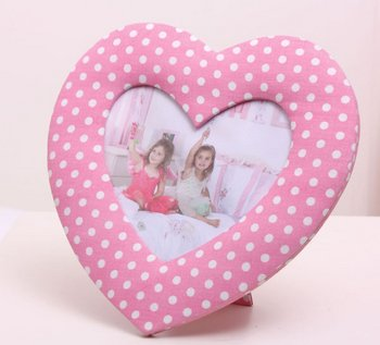 Heart Shaped Photo Frame from Jelly Duck