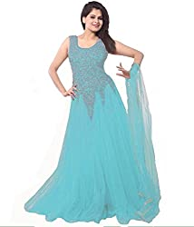 RadharaniWomenGeorgetteDress Material (RR02C1519275_Blue)