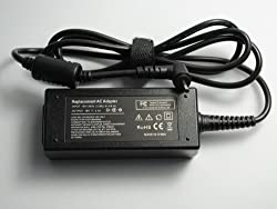 Netbook laptop AC Power Adapter for Asus Eee(PC 1005HA PC 1005HA_GG PC 1005HAB PC 1005HAG PC 1005HR PC 1008HA PC 1008HAG PC 1101HA PC 1101HA_GG PC 1101HAG PC 1201HAG PC 1201N Black Color 40Watt