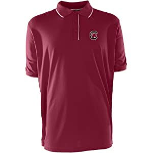 Antigua Mens South Carolina Gamecocks Elite Desert Dry Xtra-Lite Moisture Manag by Antigua