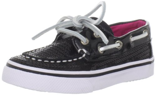 Sperry Top-Sider Bahama Loafer (Toddler/Little Kid/Big Kid),Black Size 9 front-39829