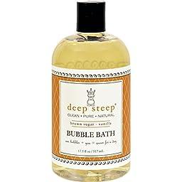 Deep Steep Bubble Bath - Brown Sugar Vanilla - 17.5 oz