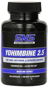 SNS YOHIMBINE 2.5 - 100 Caps