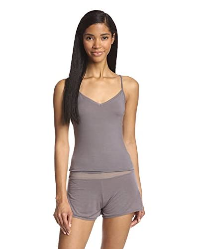 Addiction Douceur Women's Mesh Trim Premium Jersey Cami & Short Set