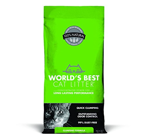 WORLD'S BEST CAT LITTER 391032 Clumping Litter Formula 28-Pound