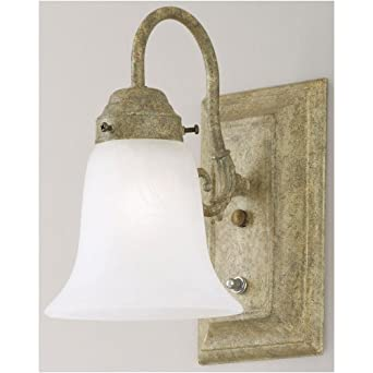 Westinghouse 66490 - 1 Light Cobblestone Wall Bracket Light Fixture