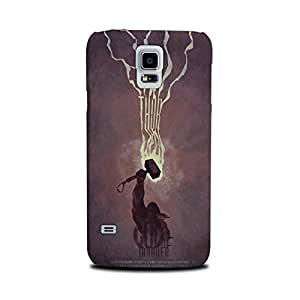 StyleO Samsung Galaxy S5 Designer Printed Case & Covers (Samsung Galaxy S5 Back Cover) - Superhero God Thunder