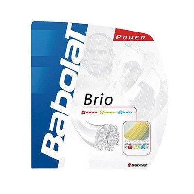 (バボラ)BabolaT ブリオ(BA241094) 硬式テニスガット ナイロンストリング シンセティックストリング 太さ:1.30mm