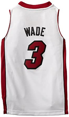 NBA Miami Heat Dwyane Wade Swingman Youth Revolution Home Jersey by adidas