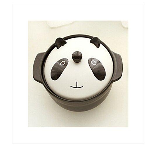 Casserole Pot Stew Pot Porridge Pot (Panda) Home Small Appliances