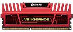 Corsair Vengeance Red 16GB (2x8GB)  DDR3 1600 MHz (PC3 12800) Desktop Memory (CMZ16GX3M2A1600C10R)