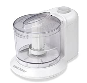 Black & Decker HC21K One-Touch Chopper, White