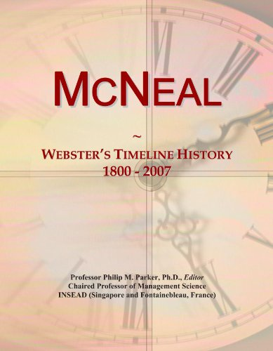 McNeal: Webster's Timeline History, 1800 - 2007