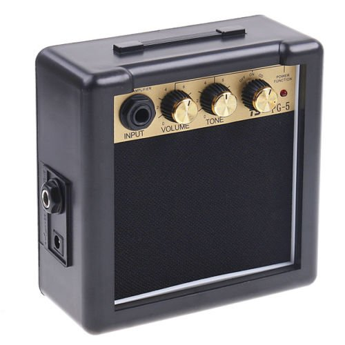 Sensitivity 5W Electric Guitar Amp Amplifier Speaker Volume Tone Control Knob