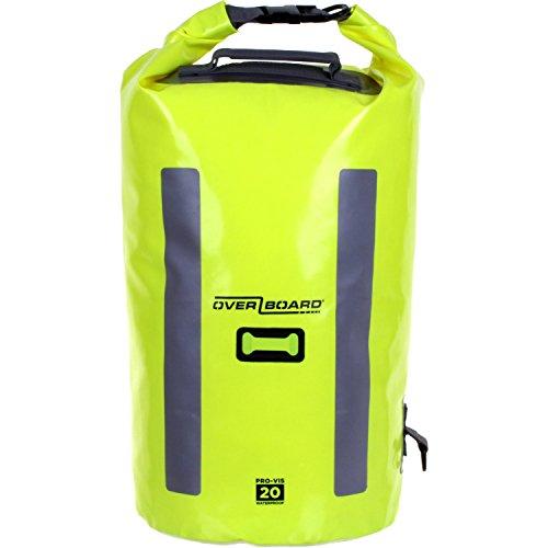 Overboard impermeabile Pro-Vis-Tubo bag-Orange, 20litri, uomo, Hi Vis Yellow, Taglia unica