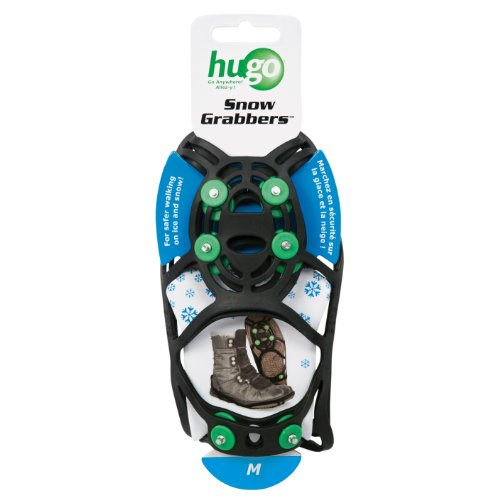 Hugo Mobility Snow Grabbers Snow and Ice Grippers for Shoes, Medium