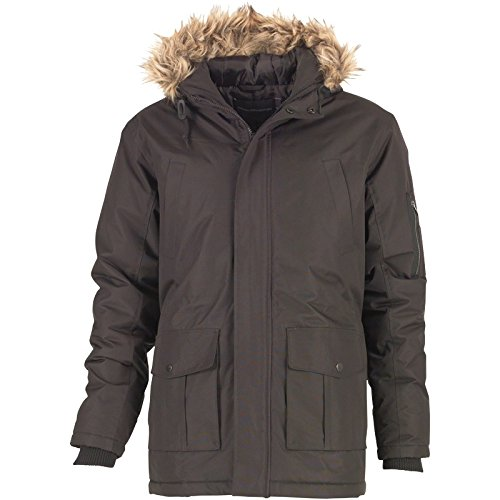 Schwarz French Connection Herren Field Parkajacke Schwarz