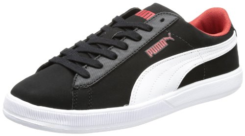Puma Unisex - Adult Archive Lite Lo SMTLT Low Top Black Schwarz (black-white-haute red 02) Size: 40.5