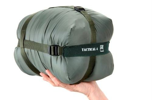 SnugPak Tactical Series 4 Olive Right Hand Zip Sleeping Bag