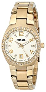 Buy Fossil Ladies AM4557 Serena Analog Display Analog Quartz Two Tone Watch by Fossil
