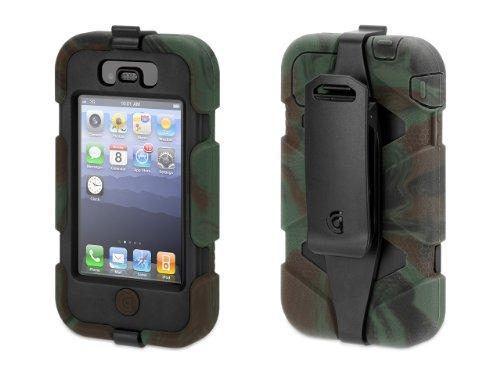 Griffin Survivor Heavy Duty iPhone 4 4S Camo Black - Retail Packaging - Camo Black