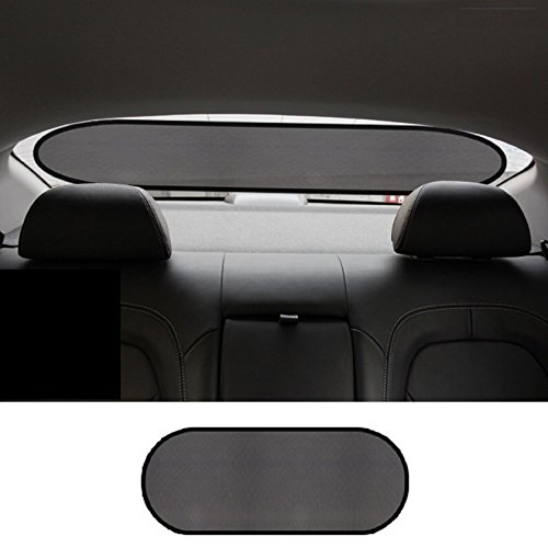 Zone Tech Clear Car Sun Stop Shade Premium Quality Mesh Rear Window Shade (Solar Car Shade compare prices)