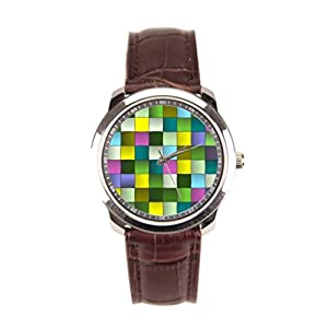 Dr. Koo Weaving Mens Leather Watch Woven Mens Leather Watch Bands