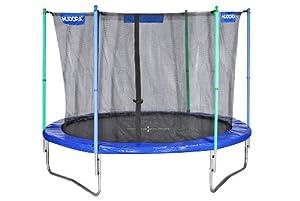 HUDORA Fitness Trampolin mit Sicherheitsnetz, 300 cm, 65312