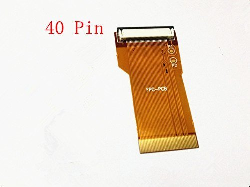 New 40 Pin Ribbon Cable Backlit Adapter For Nintendo Game Boy Advance GBA (Gameboy Advance Sp 101 Screen compare prices)