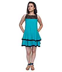 Tryfa Women's Dress (TFDRSR000082-S_Navy_Small)