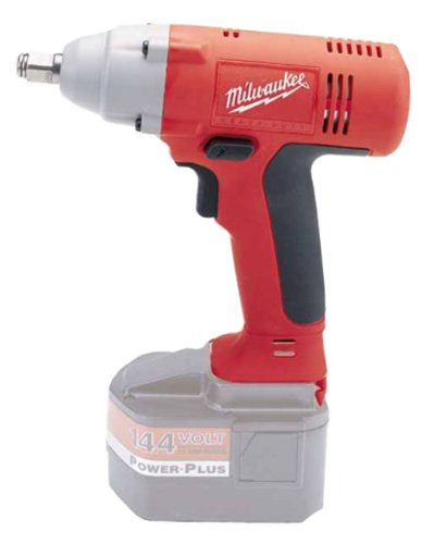Factory-Reconditioned Bare-Tool Milwaukee 9083-80 14.4-Volt Cordless 1/2-Inch Square Drive Impact Wrench (Tool Only, No Battery)