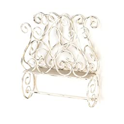 Cottage Charm Towel Holder by Tom & Co.