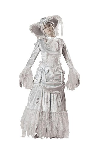 Ghostly Lady Costume - Small - Dress Size 2-6