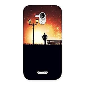 Impressive Evening Multicolor Back Case Cover for Micromax Canvas HD A116